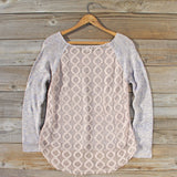 Lace Bark Sweater: Alternate View #4