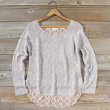 Lace Bark Sweater: Alternate View #1