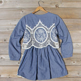 Chambray & Lace Dress: Alternate View #4