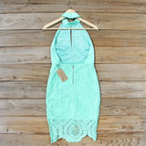 Ancient Lace Dress in Mint: Alternate View #4