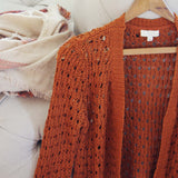 Lace & Copper Sweater: Alternate View #2