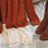 Lace & Copper Sweater: Alternate View #3
