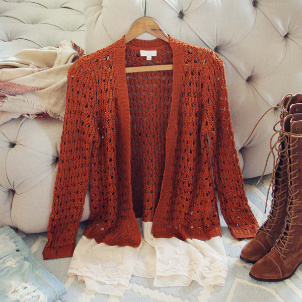 Lace & Copper Sweater: Featured Product Image