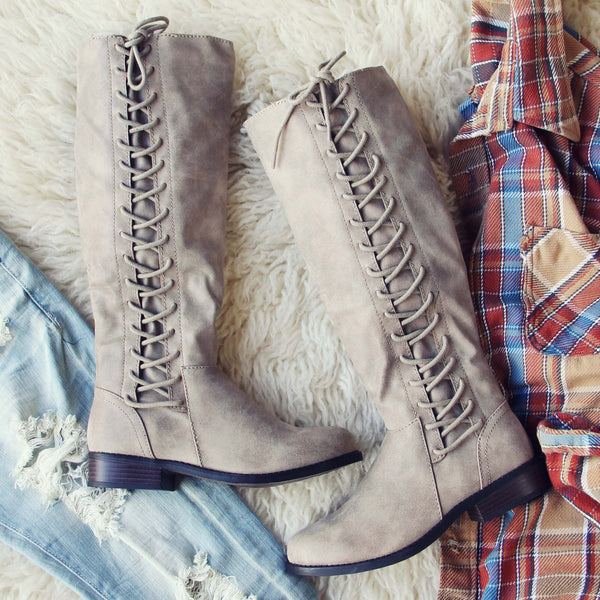 Lace Frost Boots: Featured Product Image