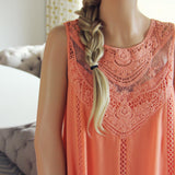 Lace Gypsy Dress in Desert Flower: Alternate View #2