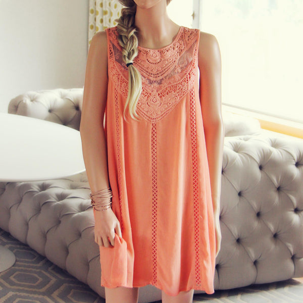 Lace Gypsy Dress in Desert Flower: Featured Product Image