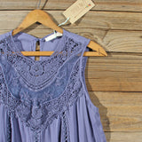 Lace Gypsy Dress in Slate: Alternate View #2