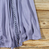 Lace Gypsy Dress in Slate: Alternate View #3
