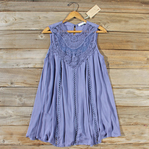 Lace Gypsy Dress in Slate: Featured Product Image