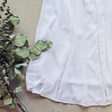 Lace Gypsy Dress in White (wholesale): Alternate View #3