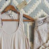 The Lace Hem Layering Tank: Alternate View #2