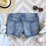 Laced Denim Shorts: Alternate View #3