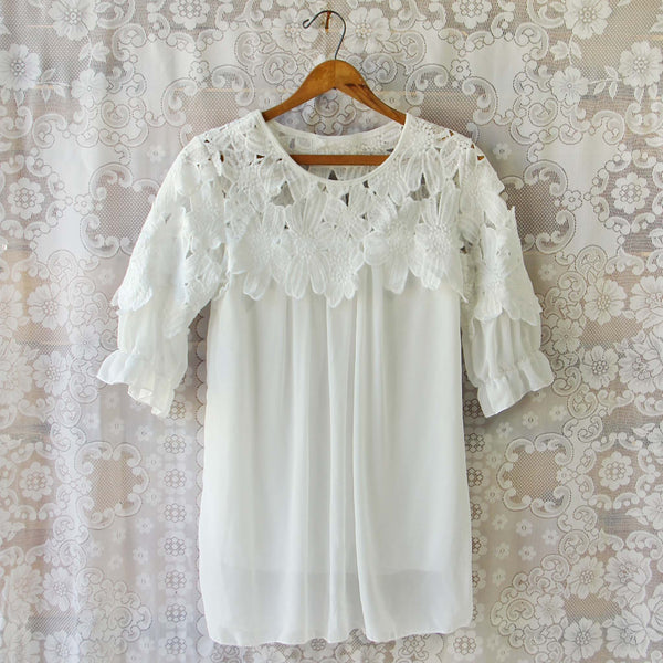 Lace Leaf Tunic: Featured Product Image