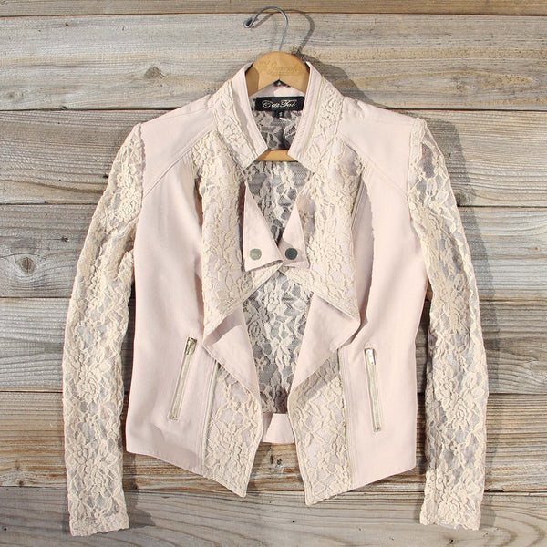 Lace Motorcycle Jacket: Featured Product Image