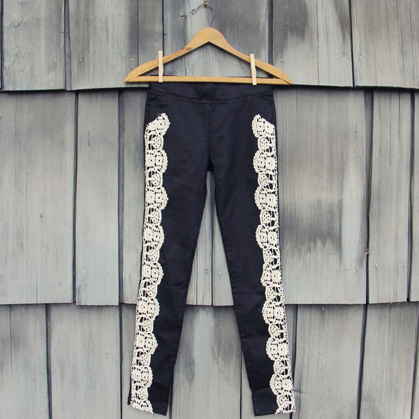 Lace & Night Leggings: Featured Product Image