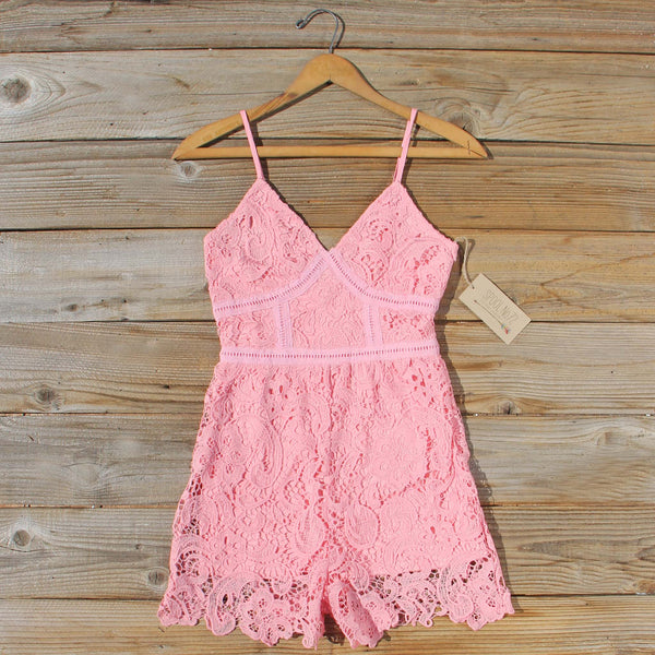 Lace Spell Romper: Featured Product Image