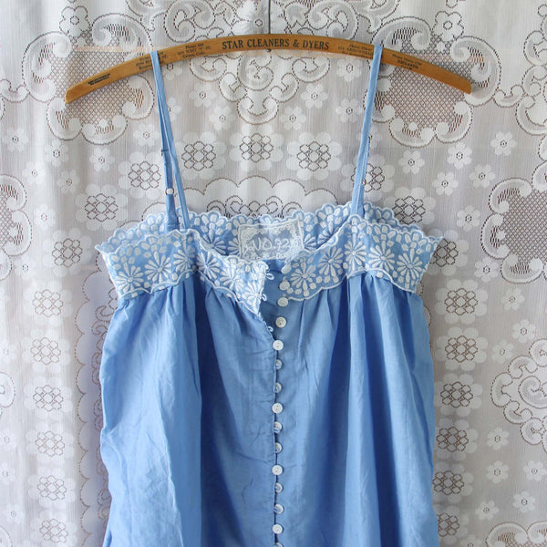 Lace Springs Maxi Dress in Sky: Featured Product Image
