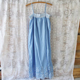 Lace Springs Maxi Dress in Sky (wholesale): Alternate View #5