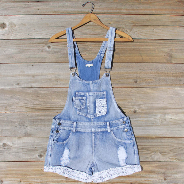 Lace Stitch Overalls: Featured Product Image