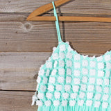 Sky Sweet Dress in Mint: Alternate View #2