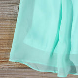 Sky Sweet Dress in Mint: Alternate View #3