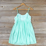 Sky Sweet Dress in Mint: Alternate View #4