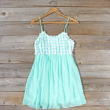 Sky Sweet Dress in Mint: Alternate View #1