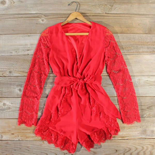 Lace Tart Romper: Featured Product Image