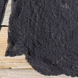 Laced in Snow Blouse in Black (wholesale): Alternate View #4
