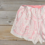 Laced In Snow Shorts: Alternate View #2