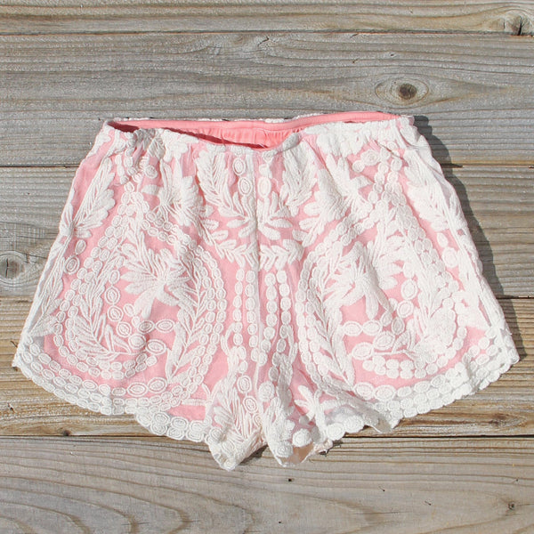 Laced In Snow Shorts: Featured Product Image