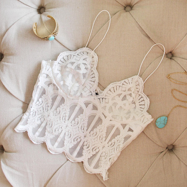 Laced Lass Bustier: Featured Product Image