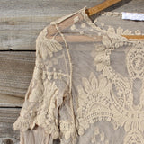December Lace Blouse: Alternate View #3