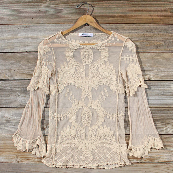 December Lace Blouse: Featured Product Image