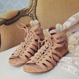 Laced Sand Sandals: Alternate View #2