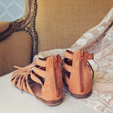 Laced Sand Sandals: Alternate View #3