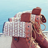 The Laced Sky Boots: Alternate View #2