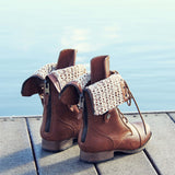The Laced Sky Boots: Alternate View #4