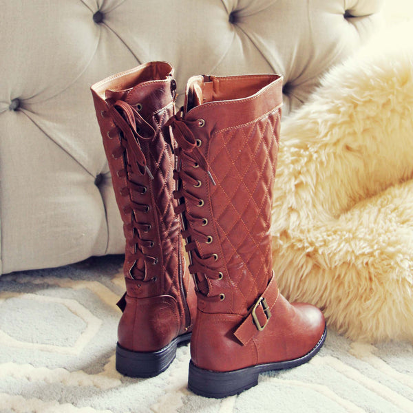 Laced & Tied Boots: Featured Product Image