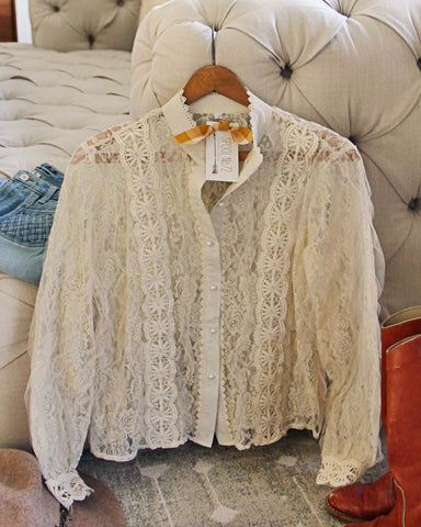 Lace Flurry Blouse