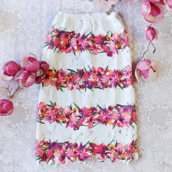Laceleaf Skirt: Featured Product Image