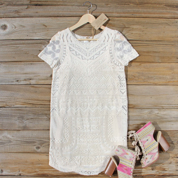 Lacey Tee Shirt Dress: Featured Product Image