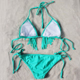 Lagoon Fringe Bikini: Alternate View #3