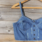 Laguna Denim Bustier: Alternate View #3