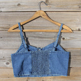 Laguna Denim Bustier: Alternate View #4