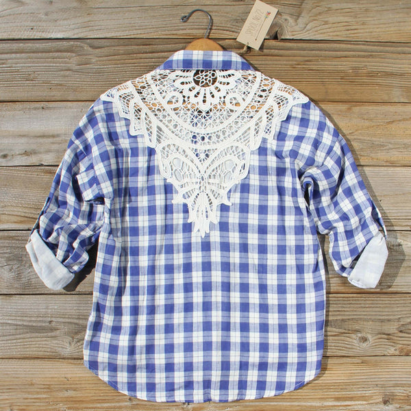 Laid-back Lace Top: Featured Product Image