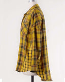 Laid-Back Plaid Top in Mustard: Alternate View #3