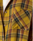 Laid-Back Plaid Top in Mustard: Alternate View #4
