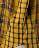 Laid-Back Plaid Top in Mustard: Alternate View #5
