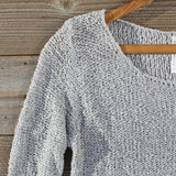 Lake Chelan Lace Sweater in Fog: Alternate View #2